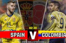 เจาะลึกบอลดัง…สเปน -vs- โคลอมเบีย(กระชับมิตร)