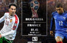 วิเคราะห์บอลดัง…บัลแกเรีย -vs- ฝรั่งเศส(ฟุตบอลโลก โซนยุโรป)