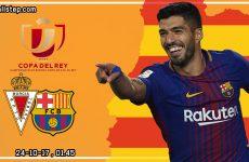 วิเคราะห์บอล ฟุตบอล โกปา เดล เรย์ : เรอัล มูร์เซีย -vs- บาร์เซโลน่า