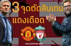 บทความฟุตบอลบอล - 3 จุดตัดสินแดงเดือดคืนนี้ !!!