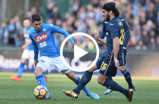 ไฮไลท์ฟุตบอล กัลโช่ เซเรียอา อิตาลี : นาโปลี -VS- ซามพ์โดเรีย 23-12-17