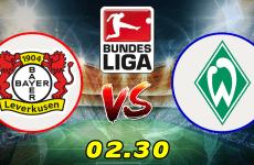 วิเคราะห์บอลบุนเดสลีกา เยอรมัน :เลเวอร์คูเซ่น VS แวร์เดอร์ เบรเมน