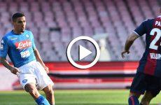ไฮไลท์ฟุตบอล กัลโช่ เซเรียอา อิตาลี : นาโปลี VS โบโลญญ่า 28-01-61