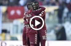 ไฮไลท์ฟุตบอล กัลโช่ เซเรียอา อิตาลี : โตริโน่ VS เบเนเวนโต้ 28-01-61