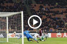 ไฮไลท์ฟุตบอล ยูโรป้า ลีก เอซี มิลาน -vs- ลูโดโกเรตส์  22-02-61
