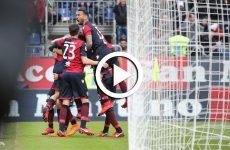 ไฮไลท์ฟุตบอล กัลโช่ เซเรียอา อิตาลี กาญารี่ -vs- สปอล 04-02-61