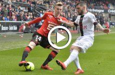 ไฮไลท์ฟุตบอล ลีกเอิง ฝรั่งเศส แรนส์ -vs- แก็งก็อง 04-02-61