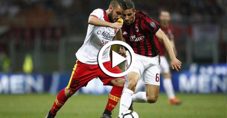 ไฮไลท์ฟุตบอล กัลโช่ เซเรียอา อิตาลี เอซี มิลาน VS เบเนเวนโต้ 21-04-61 ติดตามทีเด็ดบอลวิเ...