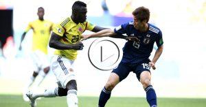 ไฮไลท์ฟุตบอลฟุตบอลโลก 2018 โคลัมเบีย VS ญี่ปุ่น 19-06-61