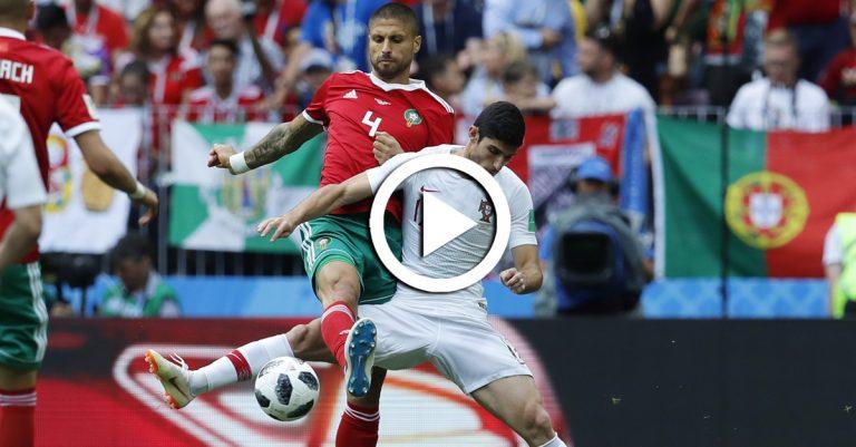 ไฮไลท์ฟุตบอลฟุตบอลโลก 2018 โปรตุเกส VS โมร็อกโก 20-06-61