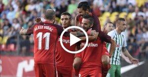 ไฮไลท์ฟุตบอล ยูโรป้า ลีก ซัลกิริส VS เซบีญ่า 16-08-61 ติดตามไฮไลท์บอล ชัดระดับ HD อัพเดตรว...