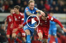ไฮไลท์บอล บุนเดสลีกา เยอรมัน ฮอฟเฟ่นไฮม์ vs บาเยิร์น มิคนิค 18-01-62