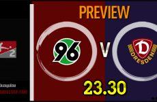 วิเคราะห์บอล บุนเดสลีก้า 2 เยอรมัน ฮันโนเวอร์ 96 VS ดินาโม เดรสเดน