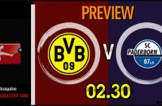 วิเคราะห์บอล บุนเดสลีก้า เยอรมัน บุนเดสลีก้า เยอรมัน โบรุสเซีย ดอร์ทมุนด์ VS พาเดอร์บอร์น