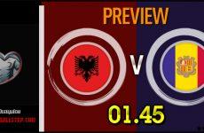 วิเคราะห์บอล ฟุตบอลยูโร 2020 แอลเบเนีย VS อันดอร์รา