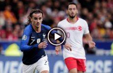 ไฮไลท์บอล ยูโร 2020 รอบคัดเลือก ฝรั่งเศส vs ตุรกี