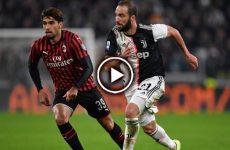 ไฮไลท์บอล กัลโช่ เซเรียอา อิตาลี ยูเวนตุส vs เอซี มิลาน