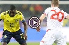 ไฮไลท์บอล ยูโร 2020 รอบคัดเลือก สวีเดน vs หมู่เกาะแฟโร