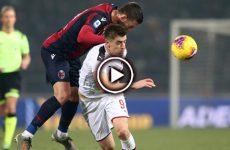 ไฮไลท์บอล กัลโช่ เซเรียอา อิตาลี โบโลญญ่า vs เอซี มิลาน