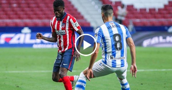 ไฮไลท์บอล ลาลีกา สเปน แอตฯ มาดริด vs เรอัล โซเซียดาด 19-07-63
