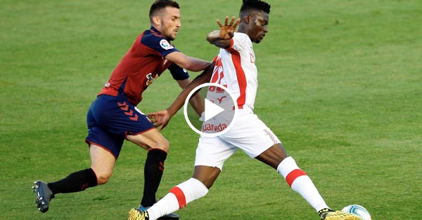 ไฮไลท์บอล ลาลีกา สเปน โอซาซูน่า vs มายอร์ก้า 19-07-63