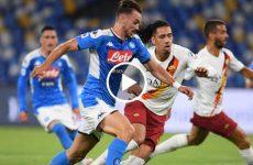 ไฮไลท์ฟุตบอล กัลโช่ เซเรียอา อิตาลี นาโปลี vs เอเอส โรม่า 05-07-63