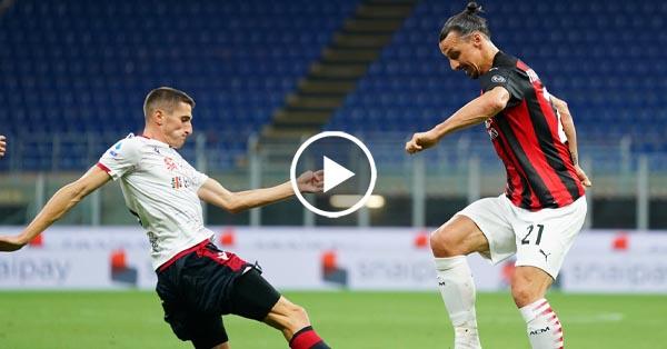 ไฮไลท์บอล กัลโช่ เซเรียอา อิตาลี เอซี มิลาน vs กาญารี่ 01-08-63