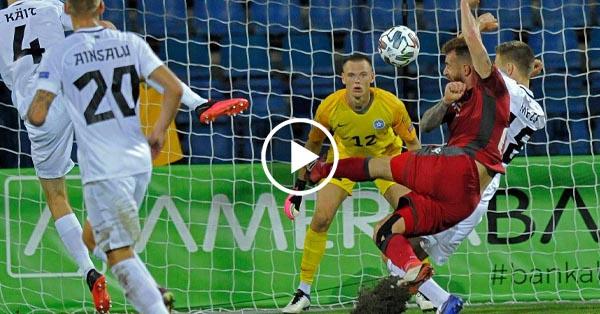 ไฮไลท์บอล ยูฟ่า เนชั่นส์ ลีก อาร์เมเนีย vs เอสโตเนีย 08-09-63
