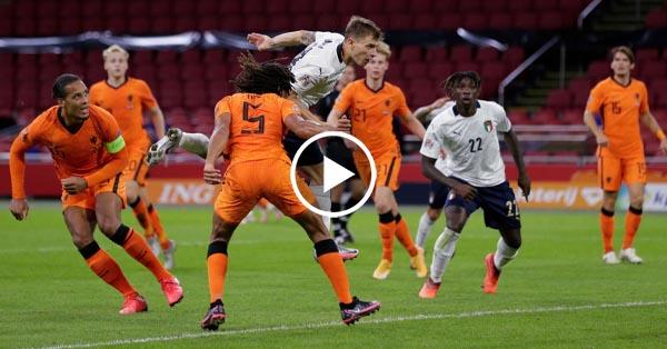 ไฮไลท์บอล ยูฟ่า เนชั่นส์ ลีก เนเธอร์แลนด์ vs อิตาลี 07-09-63