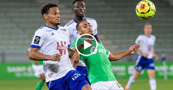 ไฮไลท์บอล ลีกเอิง ฝรั่งเศส แซงต์ เอเตียน vs สตาร์บูร์ก 12-09-63