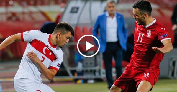 ไฮไลท์ฟุตบอล ยูฟ่า เนชั่นส์ ลีก เซอร์เบีย vs ตุรกี 06-09-63