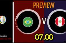 วิเคราะห์บอล โคปาอเมริกา 2021 โคปาอเมริกา บราซิล VS เปรู