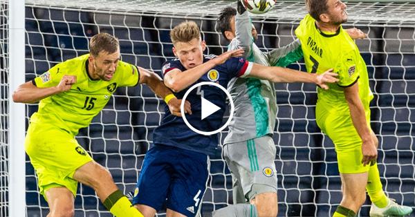ไฮไลท์บอล ยูฟ่า เนชั่นส์ ลีก สกอตแลนด์ vs สาธารณรัฐเช็ก 14-10-63