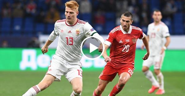 ไฮไลท์บอล รัสเซีย vs ฮังการี่