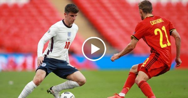 ไฮไลท์บอล อังกฤษ vs เบลเยี่ยม