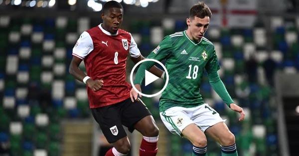 ไฮไลท์บอล ไอร์แลนด์เหนือ vs ออสเตรีย