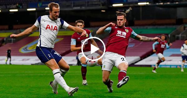 ไฮไลท์ฟุตบอล พรีเมียร์ลีก อังกฤษ เบิร์นลี่ย์ vs สเปอร์ส 26-10-63