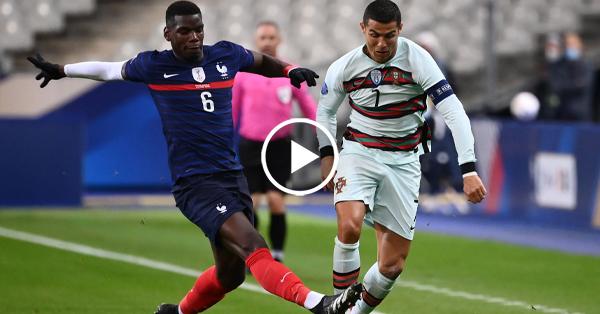 ไฮไลท์ฟุตบอล ยูฟ่า เนชั่นส์ ลีก ฝรั่งเศส vs โปรตุเกส 11-10-63