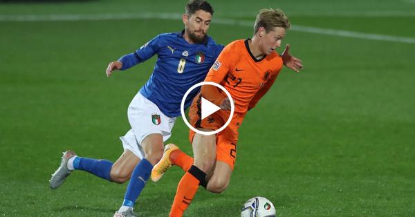 ไฮไลท์ฟุตบอล ยูฟ่า เนชั่นส์ ลีก อิตาลี vs เนเธอร์แลนด์ 14-10-63