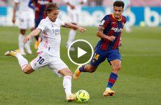 ไฮไลท์ฟุตบอล ลาลีกา สเปน บาร์เซโลน่า vs เรอัล มาดริด 24-10-63