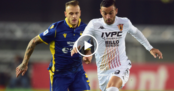 ไฮไลท์บอล กัลโช่ เซเรียอา อิตาลี เวโรน่า vs เบเนเวนโต้ 02-11-63