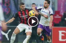 ไฮไลท์บอล กัลโช่ เซเรียอา อิตาลี เอซี มิลาน vs ฟิออเรนติน่า 29-11-63