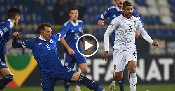 ไฮไลท์บอล บอสเนีย vs อิตาลี่