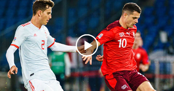 ไฮไลท์บอล ยูฟ่า เนชั่นส์ ลีก สวิตเซอร์แลนด์ vs สเปน 14-11-63