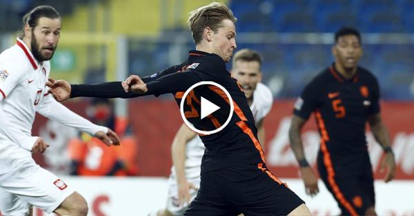 ไฮไลท์บอล ยูฟ่า เนชั่นส์ ลีก โปแลนด์ vs เนเธอร์แลนด์ เดอยอง