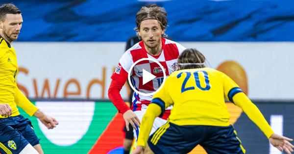 ไฮไลท์บอล สวีเดน vs โครเอเชีย