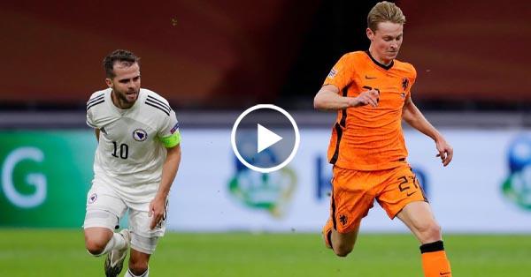 ไฮไลท์บอล เนเธอร์แลนด์ vs บอสเนีย