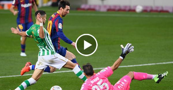 ไฮไลท์บอล ลาลีกา สเปน บาร์เซโลน่า vs เรอัล เบติส 07-11-63
