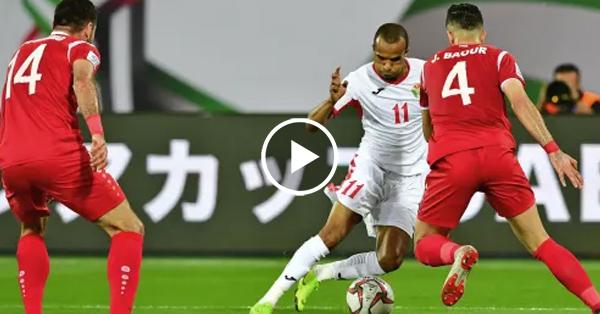 ไฮไลท์บอล กระชับมิตรทีมชาติ จอร์แดน vs ซีเรีย
