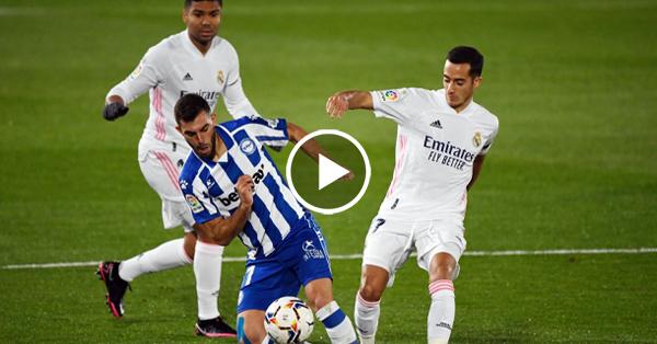 ไฮไลท์บอล ลาลีกา สเปน เรอัล มาดริด vs อลาเบส